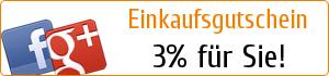 3% Gutschein!